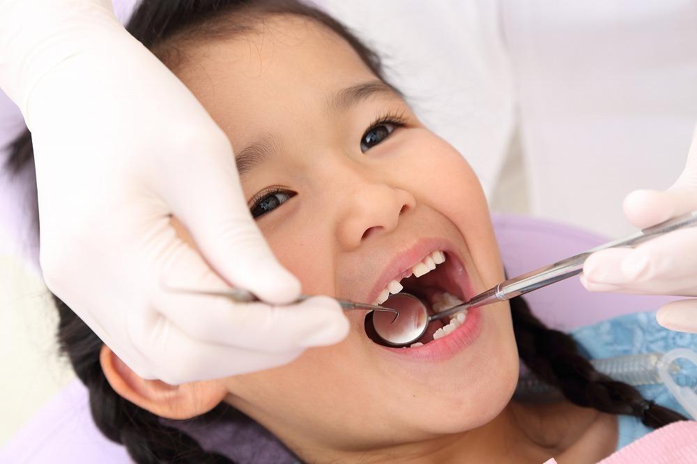 お子さま歯を守るために