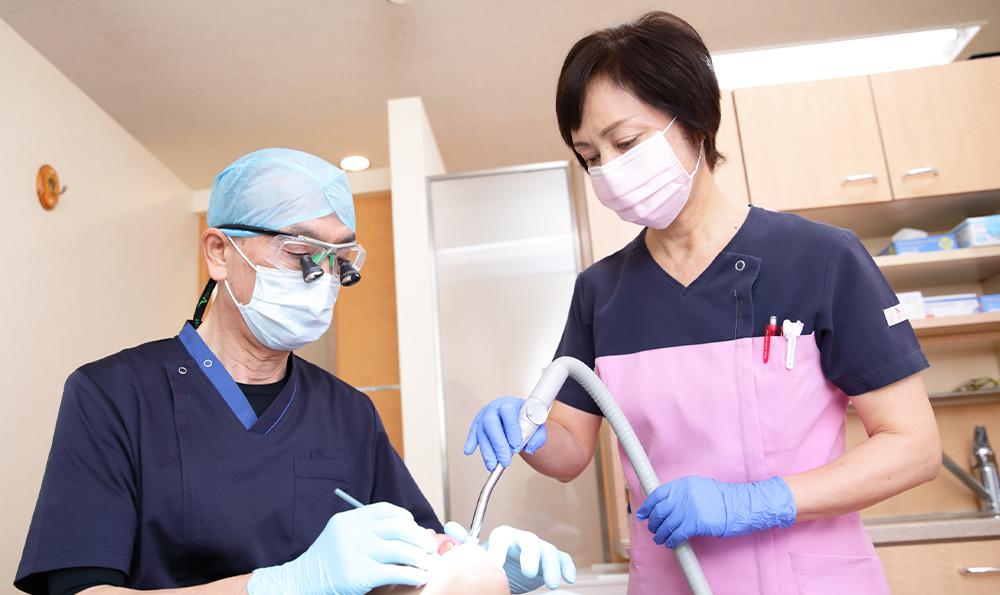 いつまでも健康な歯でいるための歯周病治療